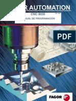 Manual CncFagor8035