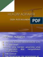 Hukum Agraria