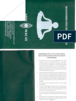 SPIC MACAY Responsibility Booklet 2009