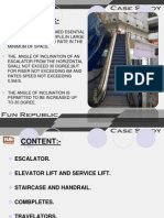 Escalator case study