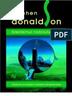 Stephen Donaldson - Blestemul Nobilului Foul v1.0