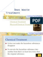 14. Hazardous Waste Treatment