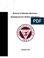 Guidebook for Online Students FINAL October 2011