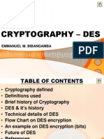 Cryptography - DeS