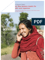 Accenture Research New Business Models Profitable Rural Expansion India