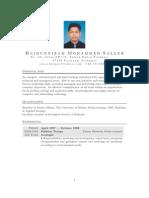 Hairunnizam M. Salleh's CV
