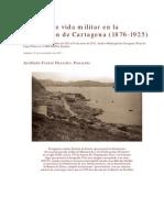 50 años de vida militar en la guarnición de Cartagena