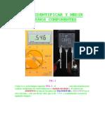 Como Identificar y Medir Algunos Componentes