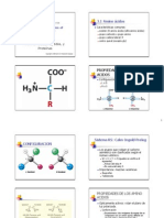 CAP 3 Amino Acidos Peptidos y Proteinas
