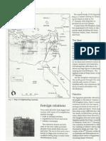 egypt - foreign relations information for worksheet