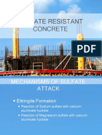 Sulfate Resistant Concrete