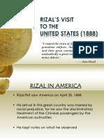 RIZAL'S VISIT TO U.S.