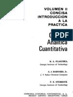 Quimica Analitica Cuantitativa-Vol 2-Flaschka