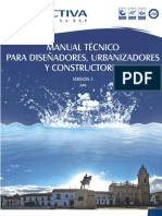 Manual Tecnico Urbanizadores[1] Proactiva 2013