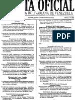 Reglamento Ley de Costos y Precios Decreto 8.563 17 Nov 11