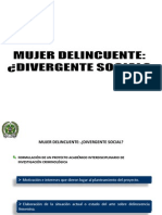 Analisis Mujer Delincuente