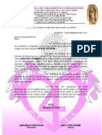 Formato Oficio Socios h.