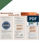 EVS Poster ALTC 09, Nottingham Trent University
