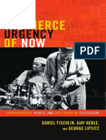 The Fierce Urgency of Now by Daniel Fischlin