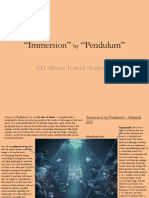 Immersion Pendulum CD Analysis 2