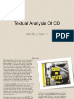 Textual Analysis of CD 1 Chase & Status