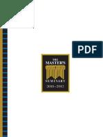 The Master's Seminary Catalog 2012