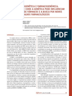Farmacogenética e Farmacogenômica