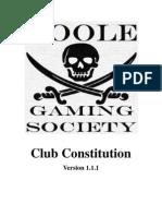 Club Constitution 1.1.1
