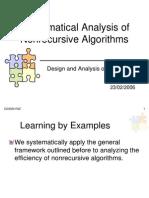 3.Mathematical Analysis of Nonrecursive Algorithms