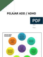 Ciri – ciri pelajar yang mempunyai penyakit ADHD
