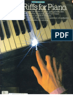 Jazz Riffs for Piano