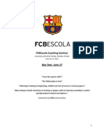 FCBEscola Coaches Seminar - Day 2