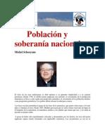 Población y soberanía nacional-  por  Michel Schooyans