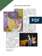 Marionetas cativam alunos para estudo de Camilo