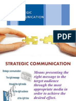 Strategic Communication Devika,Swati,Jyoti