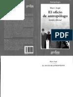 Augé Marc - El oficio de antropólogo - ISBN 978-84-9784-192-4
