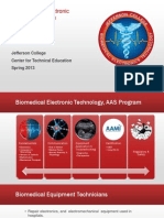 Biomedical Electronics Technician at Jefferson College- Program Presentation