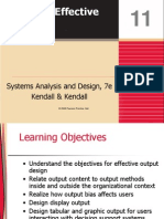 Kendall7e_ch11 Designing Effective Output