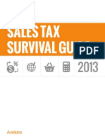 Sales Tax Survival Guide 2013