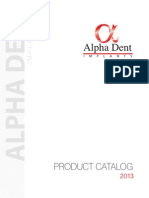 Catalog Alpha Dent 2013 Eng f