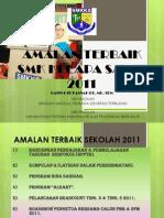 AMALAN TERBAIK SEKOLAH 2011