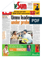 thesun 2009-04-01 page01 umno leaders under probe