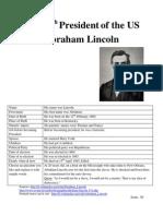 Abraham Lincoln (Sarah)
