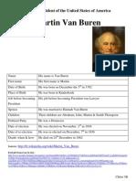 Martin Van Buren (Chloé)