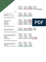 Ejercicio Presupuesto de Efectivo