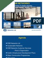 ESB Networks presentation to Dublin Chamber