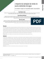 Avaliação do impacto da variação da renda no trabalho
