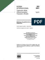 NORMA ISO 9001 2008 Español