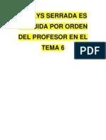CRÉDITO AGRÍCOLA NOELYS SERRADA