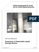 Protection of Flammabel Liquid Storage Rooms